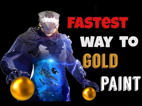 HOW TO GET GOLD PAINT & THE ALTERNATIVE (Champion of Tarsis) | ANTHEM