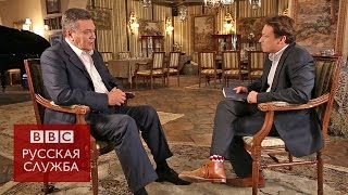 Виктор Янукович: интервью Би-би-си (полная версия) - BBC Russian