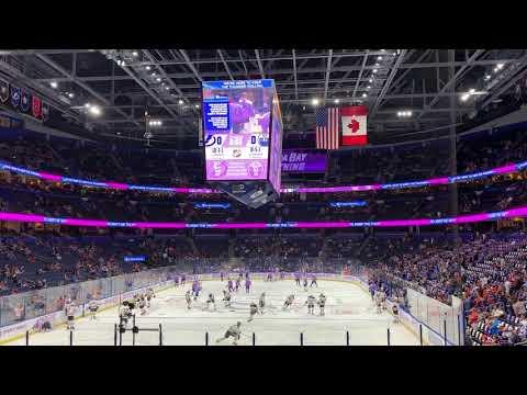 Tampa Bay Lightning Warmups 11/6/18 vs Edmonton Oilers