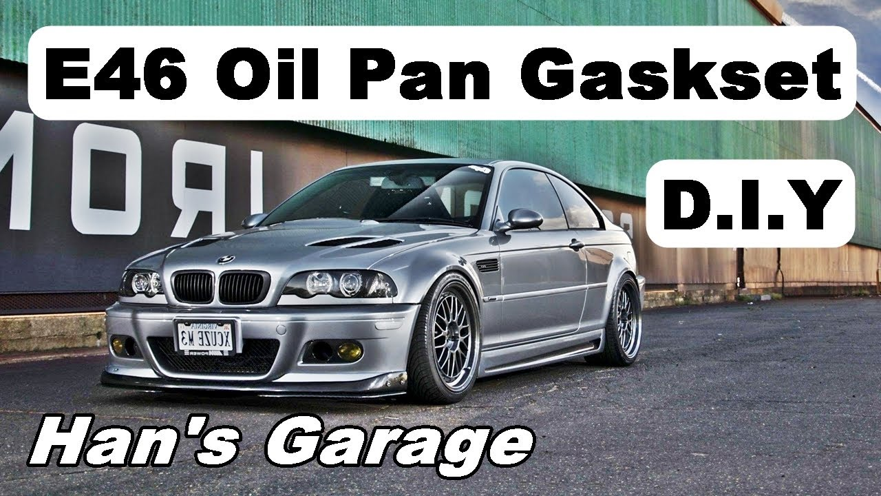 BMW E46 3 Series 1999-2005 Oil Pan Gasket Replacement DIY