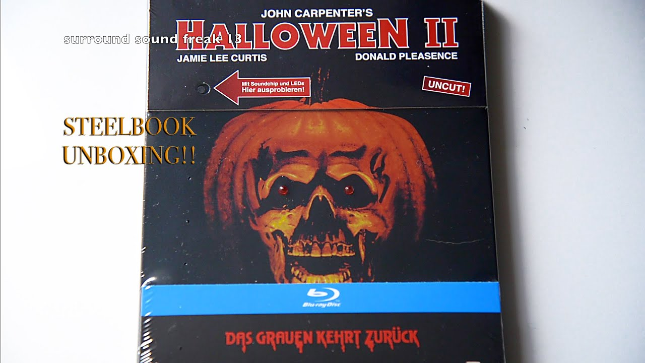 show. rob zombies halloween halloween 2 double feature blu ray