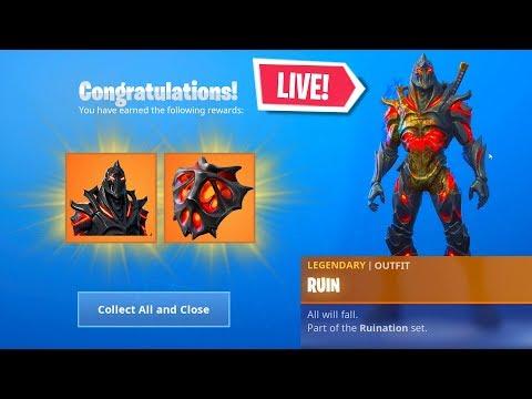 *NEW* FORTNITE RUIN SKIN UNLOCK EVENT RIGHT NOW! LIVE EVENT (Fortnite Battle Royale)