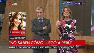 Había desaparecido en Bs.As, lo buscaban desde 2003, apareció en Perú