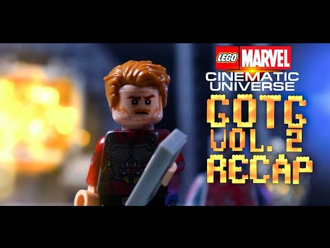 Guardians of The Galaxy Vol. 2 Recap in LEGO