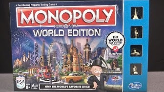 Monopoly Here & Now World Edition from Hasbro