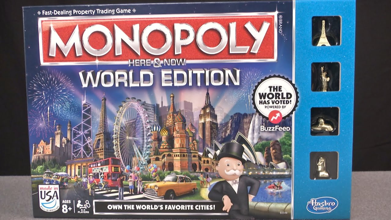 monopoly world rules