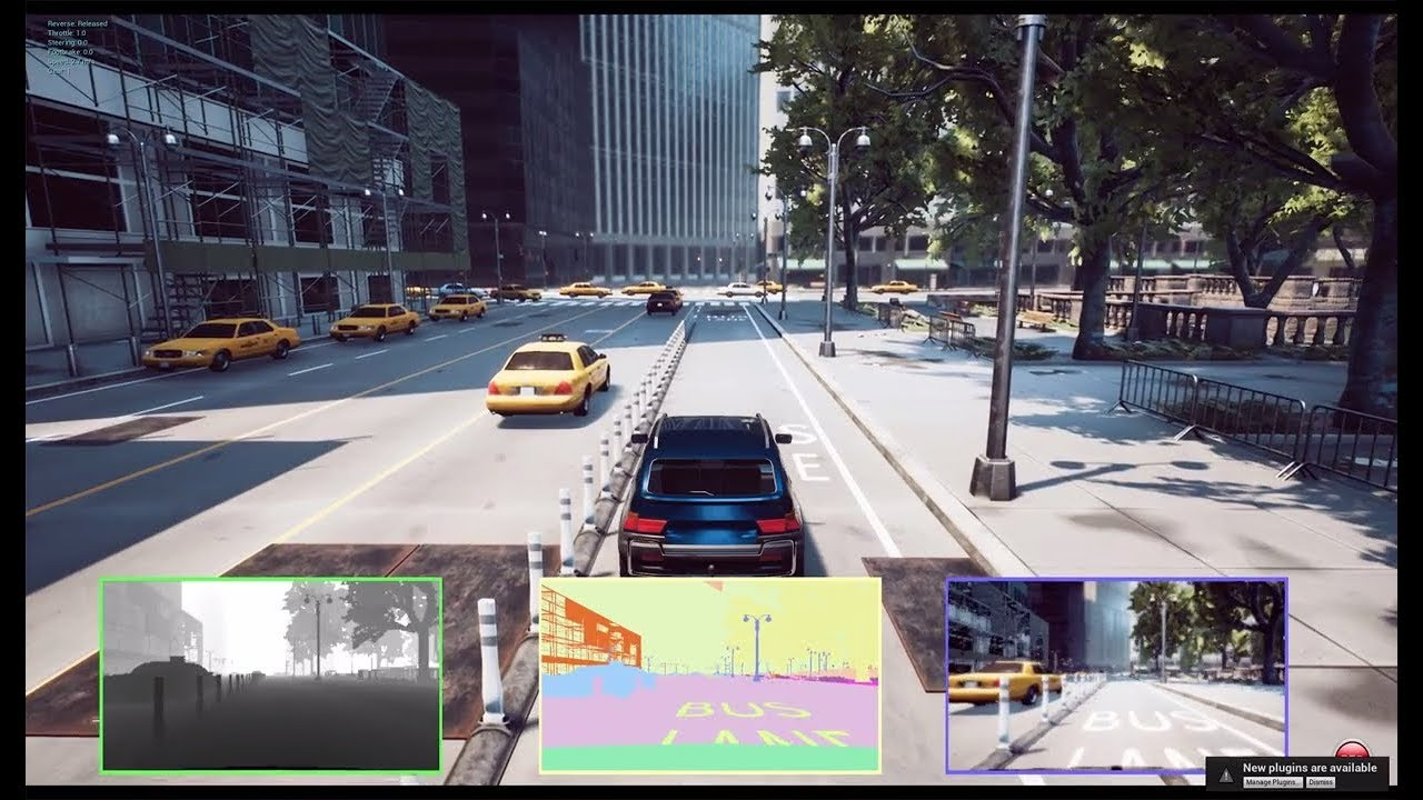 Microsoft extends AirSim to include autonomous car research