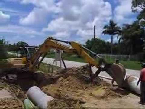 Excavating and demolition contractor