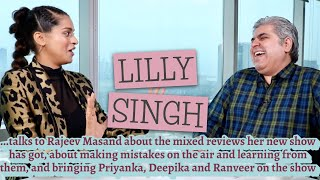 Lilly Singh interview with Rajeev Masand I A Little Late with Lilly Singh