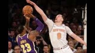 Los Angeles Lakers vs New York Knicks_NBA Highlights_(March 17th 2019)