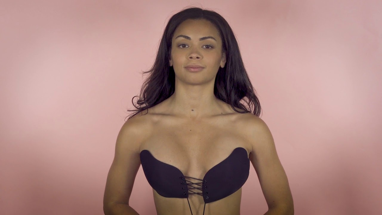f57a182454 How to Put on a Secret Push Up Bra - YouTube