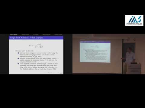Jakub Kastl - Empirical Analysis of Multiunit Auctions