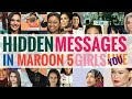 MESSAGES in GIRLS LIKE YOU - MAROON 5 YOU NEED TO KNOW!!!