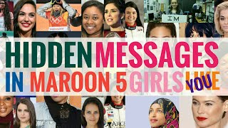 Download Lagu MESSAGES in GIRLS LIKE YOU - MAROON 5 YOU NEED TO KNOW!!! Mp3