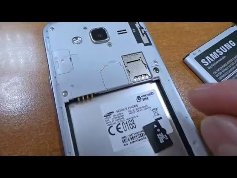 inserer carte sd samsung j3 Galaxy J3 2016   How to insert micro SD card   YouTube