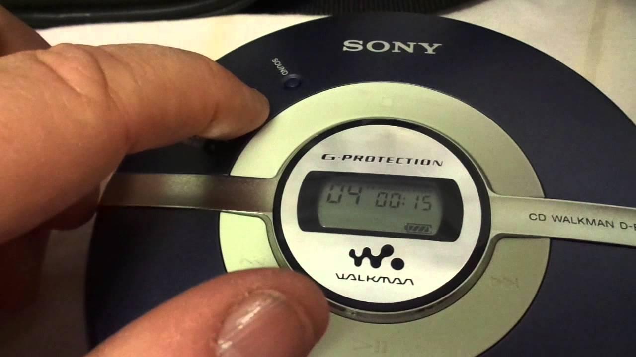 sony d ej100 youtube rh youtube com Sony Walkman DEJ011 Purchase Sony Walkman 2015