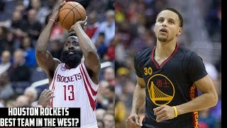 Why The Rockets May Be The Warriors' & Spurs' Biggest Nightmare