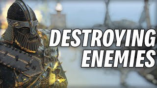 Warlord's Heavy Attacks Hit Too Hard! [For Honor]