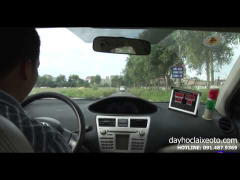 Dạy học lái xe ô tô - Thay đổi số trên đường thẳng