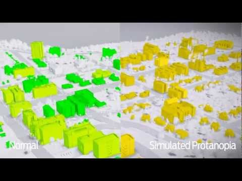 Why games need color blind modes - see SimCity with simulated color blindness