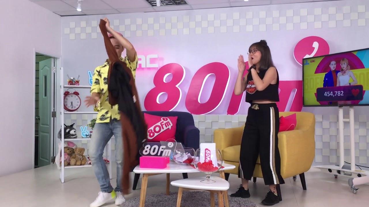 (25/08/17- 80FM)- Misthy làm cột cho Thanh Duy múa