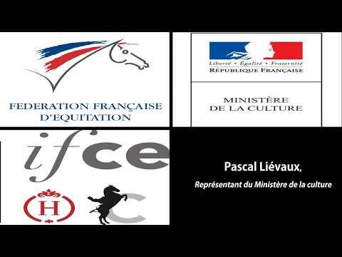 Convention FFE / IFCE «Equitation de tradition française» Pascal Liévaux