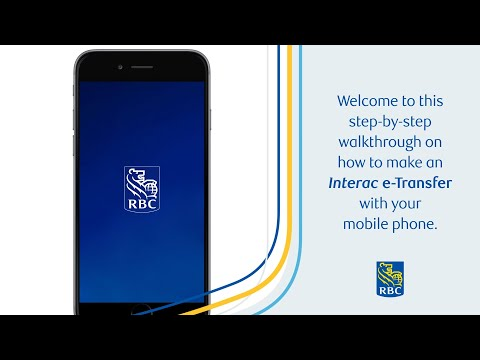 Learn how to send money using the RBC Mobile app