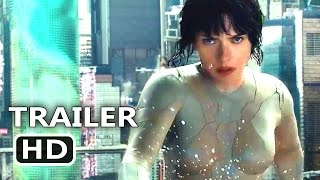Ghost in the Shell Official Trailer Teaser (2017) Scarlett Johansson Action Movie HD