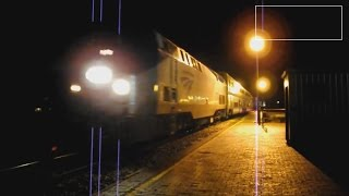 Amtrak City of New Orleans Train #58 Evening Arrival & Departure-Greenwood, Mississippi