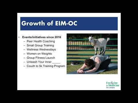 EIM On Campus: Developing Campus Support