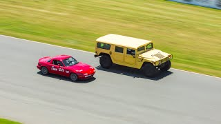Track Day in a Hummer