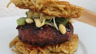 Basic Ramen Burger - Funktioniert Auch Mit Mie-nudeln - 0815bbq