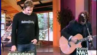 duran duran save a prayer acoustic live tv appearance