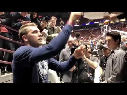 All Love For Dončić At Vancouver Canada For Mavs Vs Clippers Game