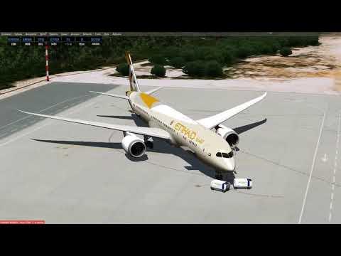 Prepar 3D V4.2 Boeing 787-900   LDDU to OKBK