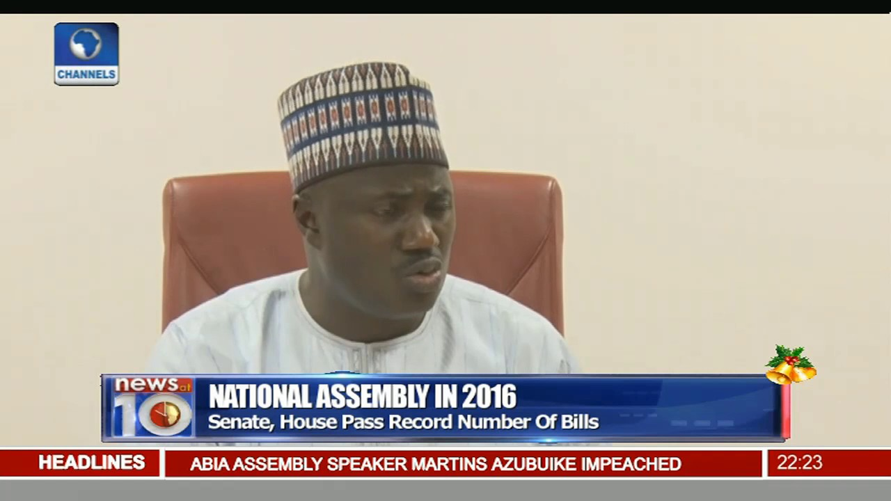 Review Of Nigeria's National Assembly In 2016