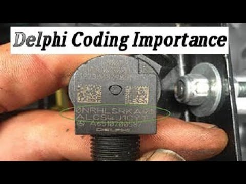 Delphi injector coding importance