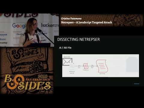 BSidesSF 2018 - Netrepser – A JavaScript Targeted Attack (Cristina Vatamanu)