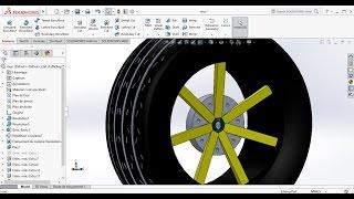 سوليدووركس الدروس : إنشاء كارت N°1/ كيفية جعل عجلة سيارة أو كارت