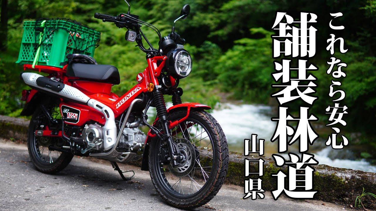 ハンターカブCT125で行く 林道ツーリング【山口編】