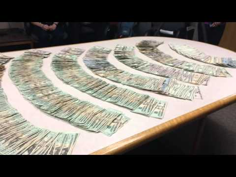 See the guns, drugs, money the Flint Police Department seized in two-week period