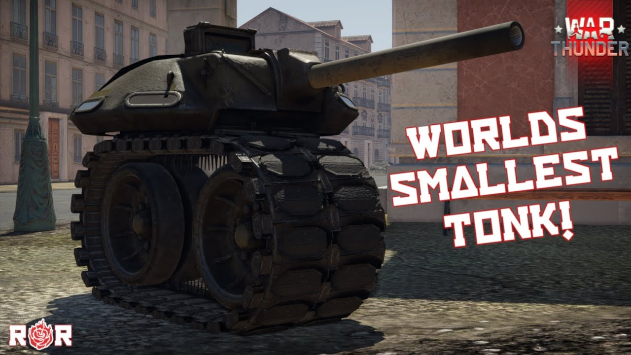 Download The Worlds Smollest Tonk! | Now In War Thunder!