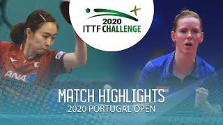 Kasumi Ishikawa vs Britt Eerland | 2020 ITTF Portugal Open Highlights (1/4)