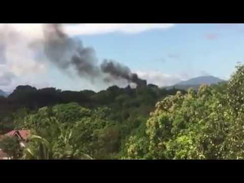 Military chopper bumagsak sa tanay,rizal