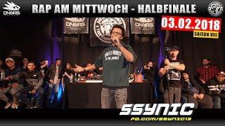 RAP AM MITTWOCH DÜSSELDORF: 03.02.18 Halbfinale feat. SSYNIC, JOLLE, HOFFMANN uvm. (3/4)