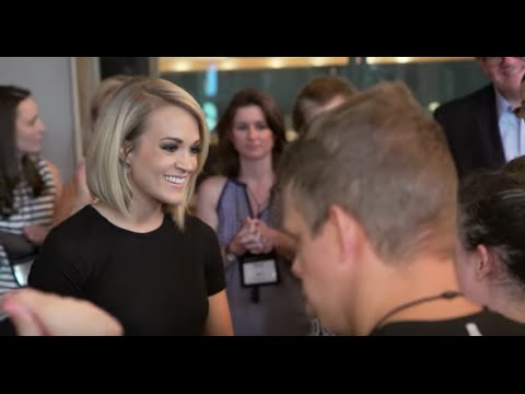 2016 ACM Lifting Lives Music Camp: Ocean Way Studios with Carrie Underwood and Ross Copperman