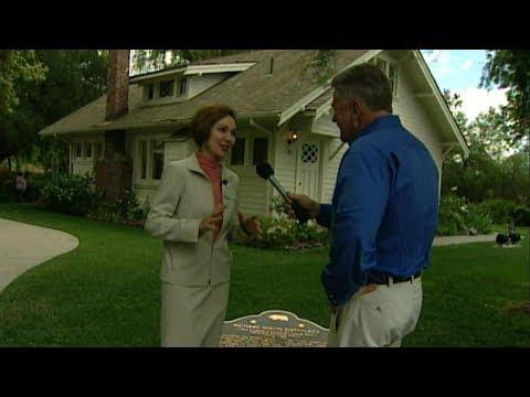 Julie Nixon Eisenhower's tour of the Nixon Birthplace