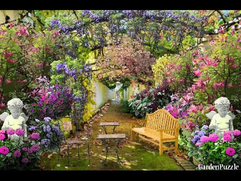 Italian Courtyard Garden Design Youtube