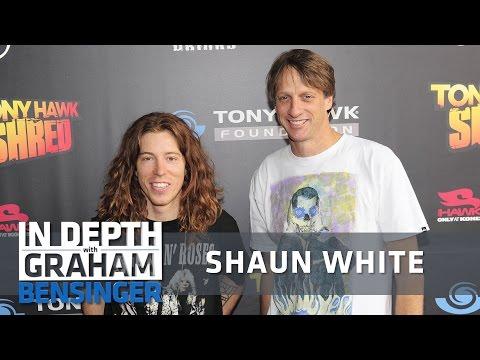 Shaun White: Life lessons from Tony Hawk