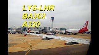 FlightReport : British Airways BA363 Airbus A320 Economy Seat 27A ...